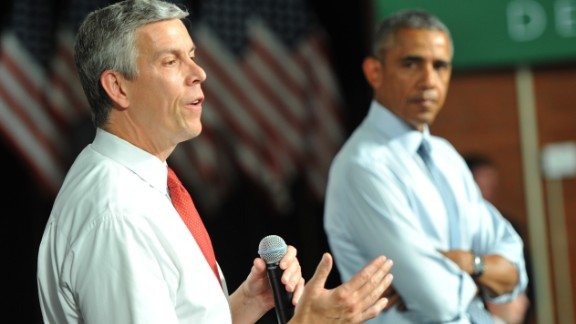 Education Secretary Arne Duncan will step down in December, an administration official said Friday, October 2.