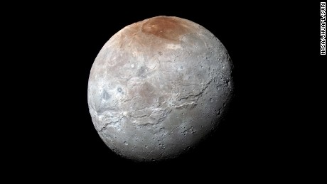 Canyon on Pluto's moon dwarfs Grand Canyon