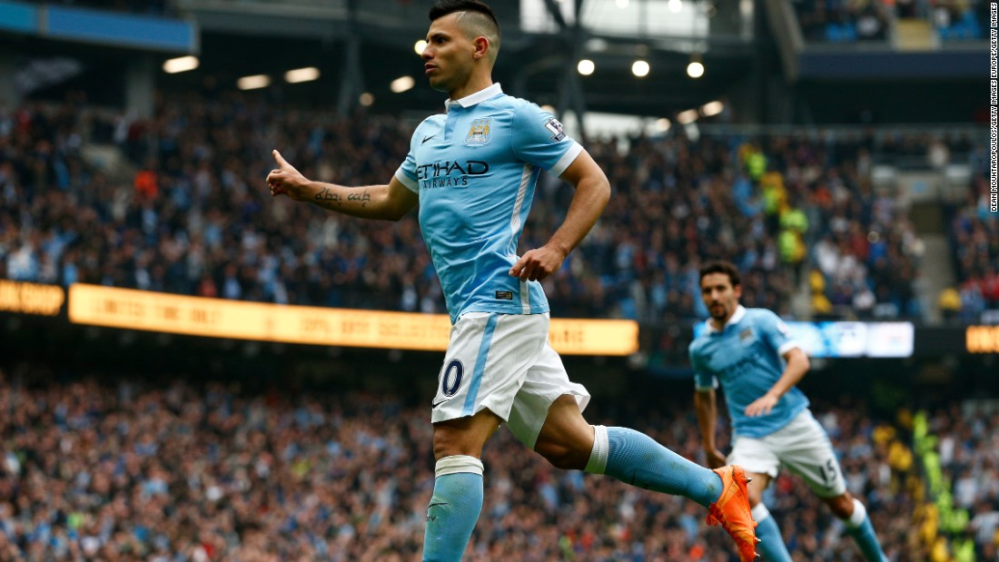 The Argentine completed his hat-trick in eight minutes as City led 3-1.