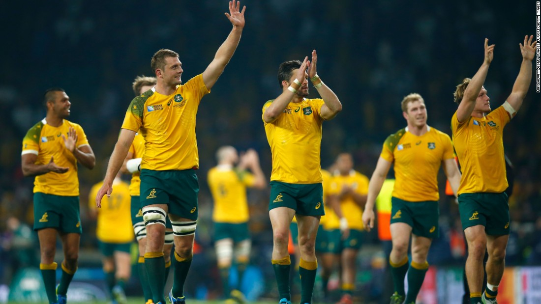Australia will fight it out with Wales for top spot in Pool A.