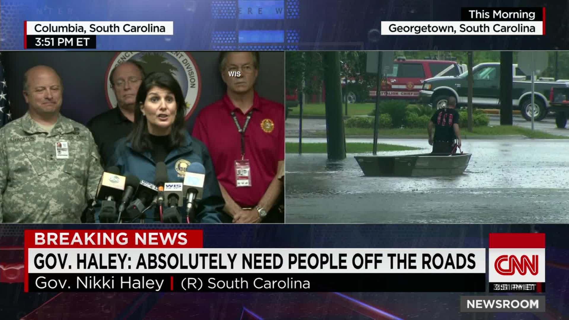 Flooding continues to paralyze South Carolina munities CNN Video
