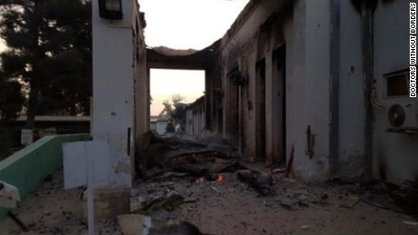 U.S.: Kunduz hospital was 'mistakenly struck'