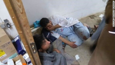 Doctors Without Borders: Hospital attack 'a war crime'