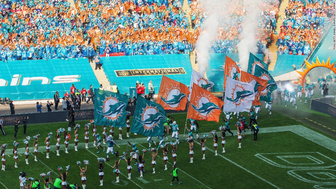 The Miami Dolphins were involved in the first ever International Series match back in 2007, when they took on the New York Giants on October 28.