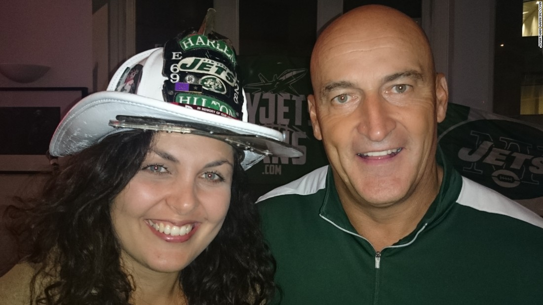 """Fireman Ed ""is the ""unofficial"" mascot of the New York Jets and can often be seen leading fellow fans in chants of support for their team."