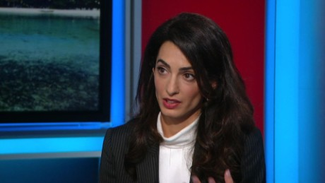 Amal Clooney: Sanction Maldives to get politician's freedom