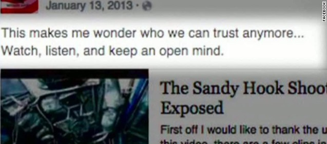 Did sheriff help spread Sandy Hook conspiracy theory? Did