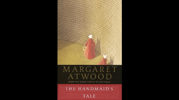 """In the future portrayed in """"The Handmaid's Tale"""" by Margaret Atwood, women are not allowed to read and do not control their bodies anymore. They simply exist to serve men, whether to serve as their chaste wives, their housekeepers or their handmaids --where they are only valued if they can give birth."""