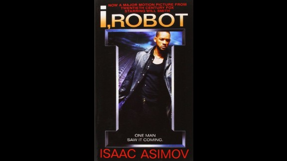 """In the classic """"I, Robot"""" by Isaac Asimov, this dean of science fiction lays out the laws by which robots must live in an interconnected series of stories. Since not all robots follow the rules, the human species itself may be in jeopardy."""