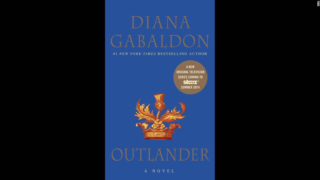 """Outlander"" by Diana Gabaldon tells the story of Claire Beauchamp Randall, who is married to one man in the 1900s and traveling through time and falling in love with another man in the 1700s. The historical time travel books are now the basis of a Starz original series.<br />"