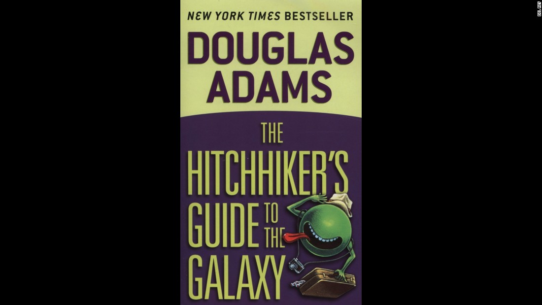 "What is the answer to life, the universe and everything? ""The Hitchhiker's Guide to the Galaxy"" by Douglas Adams will answer that question, and more. Like what happens when the Earth to demolished to make way for an intergalactic freeway? And what's the most useful thing for an interstellar hitchhiker to carry?"
