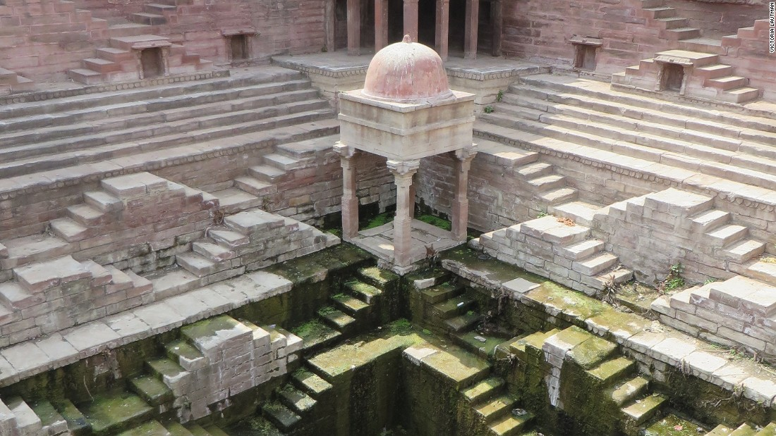 Up the Down Staircase and into India's ancient wells - CNN Style