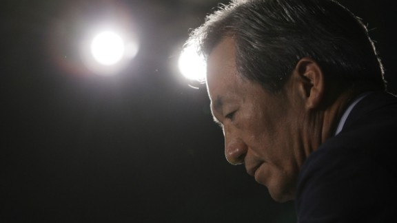 South Korean billionaire and FIFA presidential candidate Chung Mong-joon was banned for six years and fined $103,000 based on findings relating to the bidding process for the 2018 World Cup in Russia and the 2022 tournament in Qatar.  Chung, a former FIFA vice president, vociferously denies any wrongdoing and attacked his colleagues for leaks that he says are designed to hurt his candidacy.