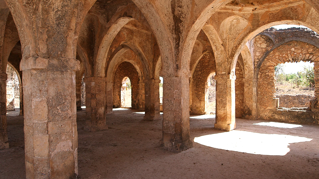 """When the Portuguese first arrived they said the development of architecture here was equal to that found in the Mediterranean world,"" says archaeologist Felix Chami."