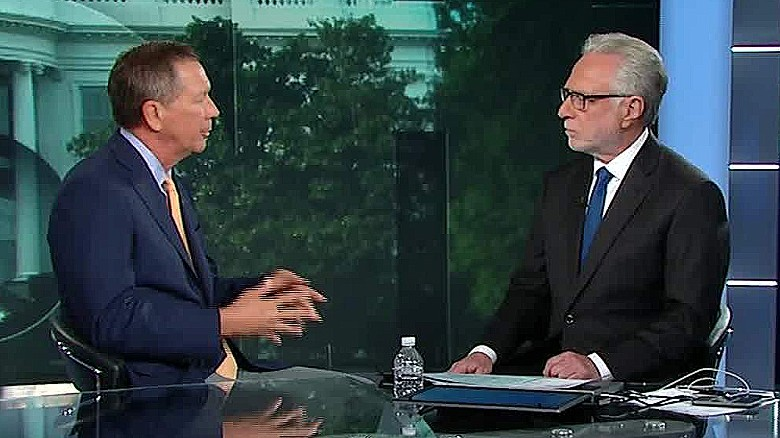 Kasich talks gun control with CNN