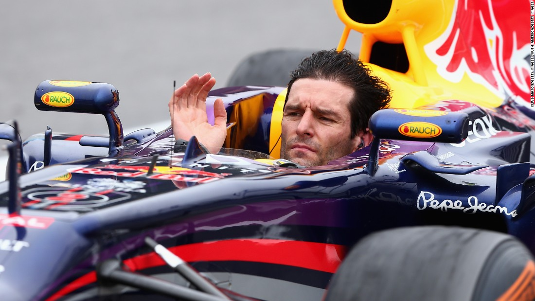 "Webber bowed out of F1 with a typically unique farewell. He took his helmet off to wave to the crowd on the warm down lap of his final race at the Brazilian Grand Prix in 2013.  ""I don't miss F1 a huge amount,"" the 39-year-old says now."