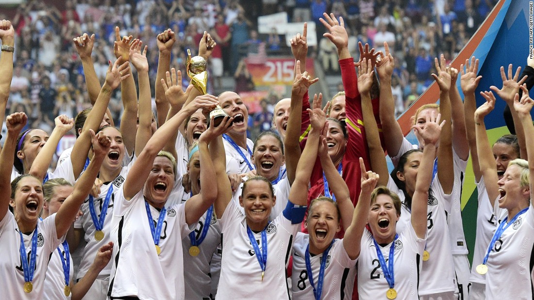 The U.S. women's soccer team won its third FIFA Women's World Cup title in a game that made history, electrifying more than 25 million television viewers.