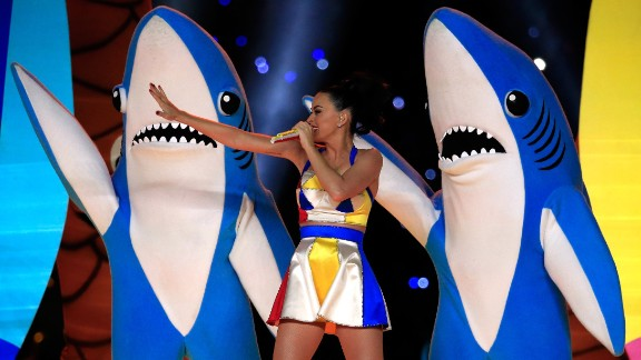 Did you already forget about Left Shark, of Katy Perry Super Bowl halftime show fame? For shame! Dress up in ocean blue and cut a fin out of cardboard that you can decorate with tin foil or construction paper. Or if you