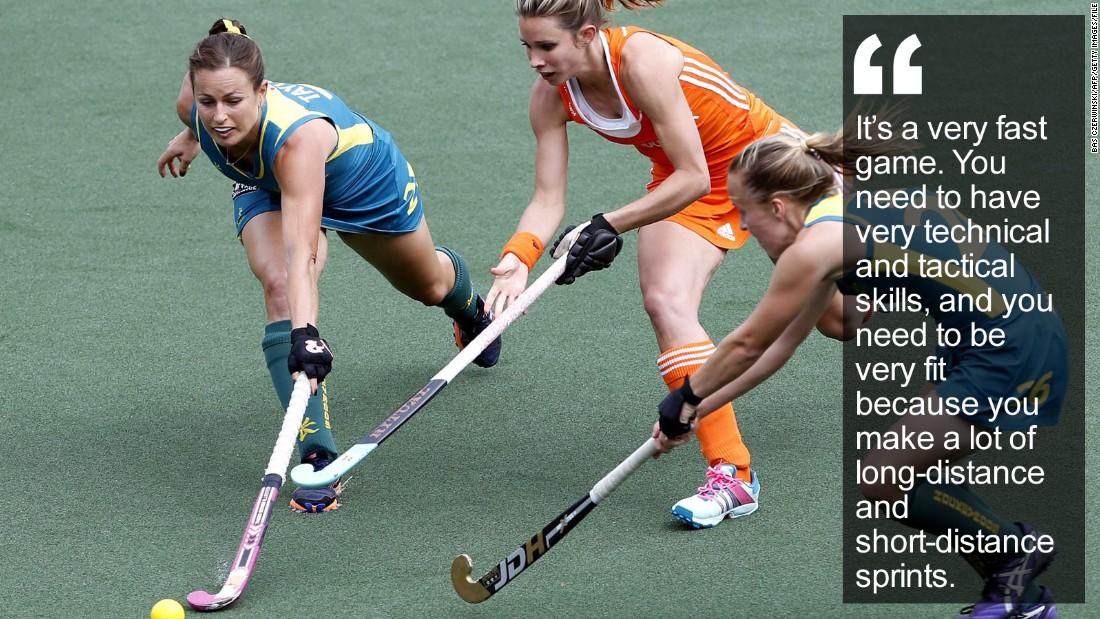 Ellen Hoog: Hockey's pinup girl ready for Rio - CNN