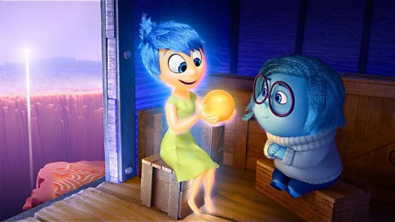 """Best animated feature: """"Inside Out,"""" pictured, """"Anomalisa,"""" """"Boy and the World,"""" """"Shaun the Sheep Movie"""" and """"When Marnie Was There."""""""