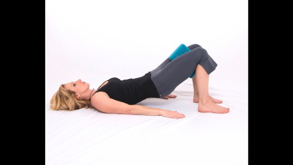 This position trains breathing with complete core engagement and pelvic/hip alignment.