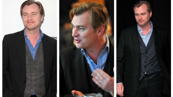 """""""Interstellar"""" director Christopher Nolan favors a blue shirt and blazer.   According to a 2014 profile in the New York Times Magazine:  """"He long ago decided it was a waste of energy to choose anew what to wear each day."""""""