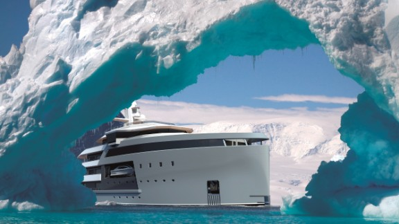 Billionaires who want to escape to the ends of the Earth would need a boat fit for an army; a warship that can sail the seven seas, and in style. Step forward, the SeaXplorer -- the toughest superyacht on the planet.