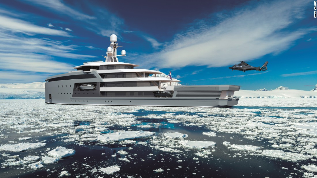 "For a glorified warship, the SeaXplorer comes loaded with its fair share of billionaire toys. The 100 boasts two helicopters, two lifeboats, four zodiacs, one expedition <a href=""http://products.damen.com/en/ranges/rigid-hull-inflatable-boat"" target=""_blank"">RHIB</a>, one dive support boat, one luxury tender, two submersibles and four wave-runners to have some fun with."