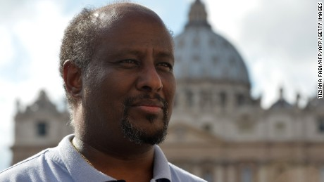 Catholic priest Mussie Zerai founded Habeshia, an agency to help immigrants to integrate in Italy.