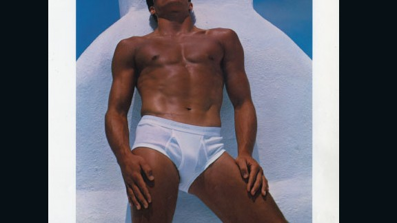 Bruce Weber's iconic image of Brazilian pole-jumper Tom Hintnaus in 1982 marked a profound change in the world of fashion advertising. It promoted male beauty through a homoerotic lens, and proudly displayed Hintanaus' body on a Times Square billboard.