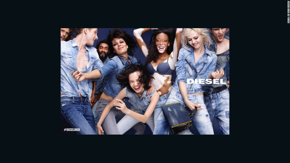 Another of Formichetti's groundbreaking campaigns was his SS15 image that placed model Winnie Harlow, who suffers vitiligo, in the spotlight. Harlow's recent ascent within the fashion industry -- she is also the face of Desigual -- has diversified cultural representations of beauty and challenged ideas of perfection commonly expected of models.