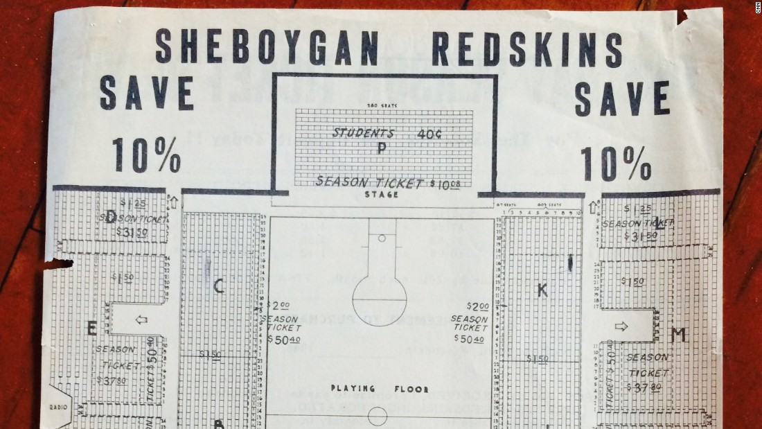Sheboygan was one of the National Basketball League's top teams until a merger with the Basketball Association of America created the NBA in 1949. The Red Skins lasted just one season in the new competition.