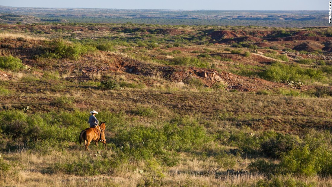 Located near Vernon, Texas, the ranch comes with a whopping half-a-million acres of land.