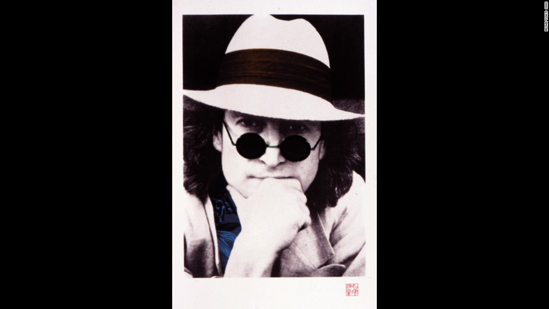 "Nishi F. Saimaru, who was a personal assistant and photographer for the Lennons from 1976 to 1979, took this portrait of Lennon around 1977. <a href=""http://johnlennonartworks.com/collections/commemorative-portraits/"" target=""_blank"">Lennon described it as his favorite. </a>"