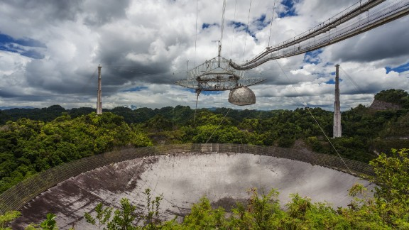 FAST is almost twice as the Arecibo Observatory, Puerto Rico.