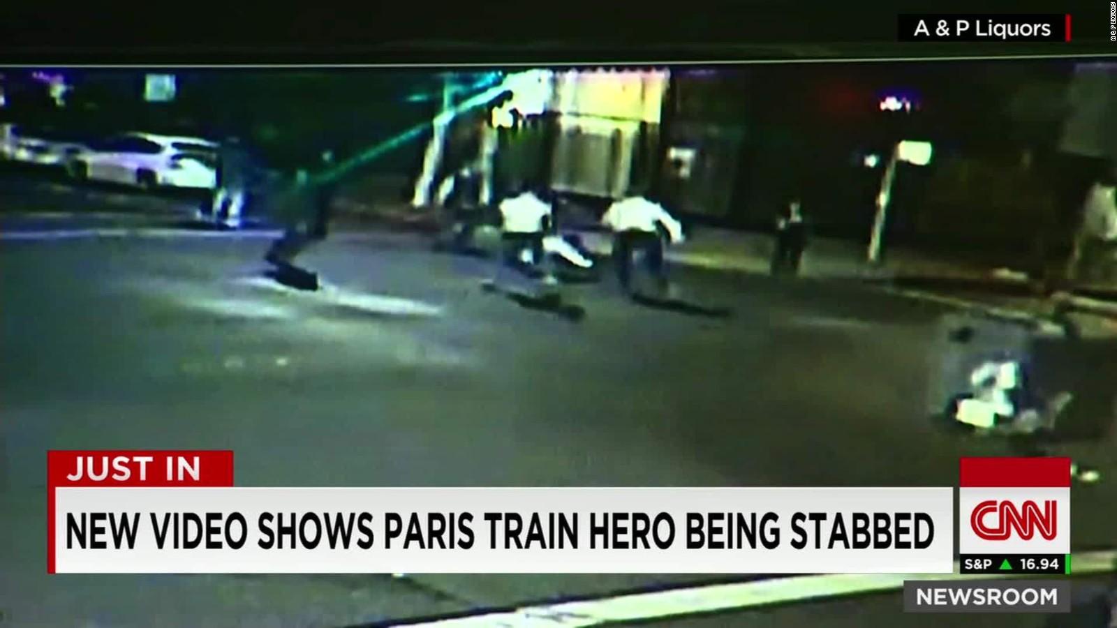 Spencer Stone, train hero, stabbed in Sacramento - CNN
