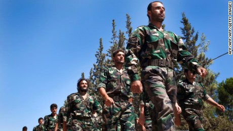 U.S. suspending program to train and equip Syrian rebels
