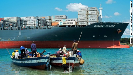 The Dar es Salaam port is undergoing a huge transformation.