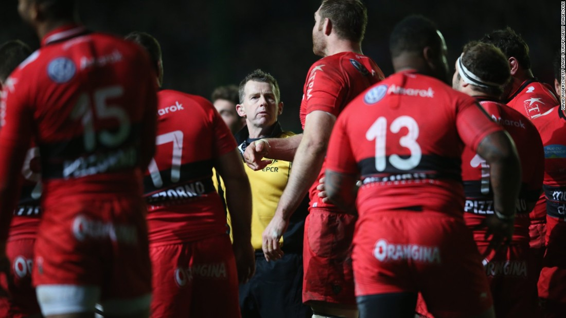 "International rugby referee Nigel Owens (center) came out in 2007, and has spoken about the depression he suffered while coming to terms with his sexuality, at one point<a href=""http://www.independent.co.uk/voices/comment/referee-nigel-owens-on-coming-out-and-homophobic-twitter-abuse-im-gay-in-a-macho-world-but-i-wont-10144815.html"" target=""_blank""> attempting to take his own life.</a><br />""Rugby players may seem very macho but I've had no problem with them at all,"" he told  <a href=""http://www.independent.co.uk/voices/comment/referee-nigel-owens-on-coming-out-and-homophobic-twitter-abuse-im-gay-in-a-macho-world-but-i-wont-10144815.html"" target=""_blank"">British newspaper The Independent. </a><br />"