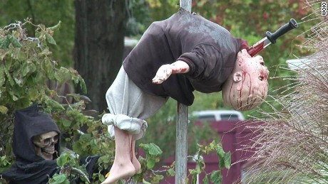 Is Halloween display too scary for kids?