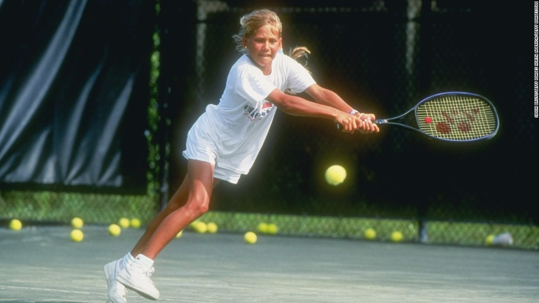 """I've seen them all, but this one actually frightens me,"" Bollettieri told the<a href=""http://www.nytimes.com/1992/04/23/sports/tennis-the-molding-of-a-tennis-prodigy.html"" target=""_blank""> New York Times in 1992.</a><br />""She knows everything -- what she wants to do and how she's going to get there. She's not only the youngest real prospect I've ever had, but the best. We've had Andre. We've had Courier. We've had Seles, but I can say without hesitation that when I see how this girl can play, at age 10, I'm shocked."""