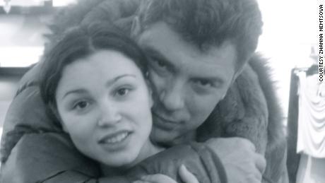 Zhanna Nemtsova with her father, the murdered Russian disident Boris Nemtsov.