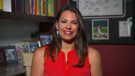 Jessica Mendoza makes history calling AL game