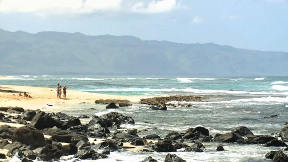 Attack happened along rugged north shore of Oahu at popular Leftovers Beach surf spot