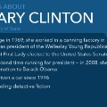 hillary clinton facts mullery