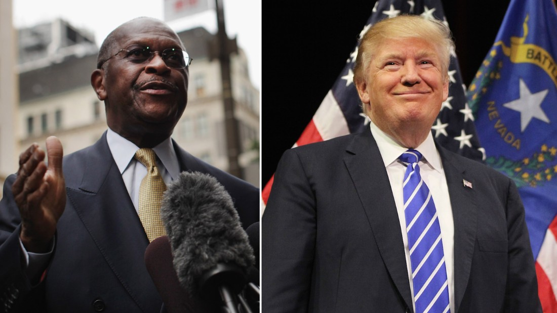 Herman Cain withdraws from Fed consideration, Trump says - CNN