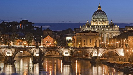 Heightened security is in place for New Year's Eve festivities in Rome.