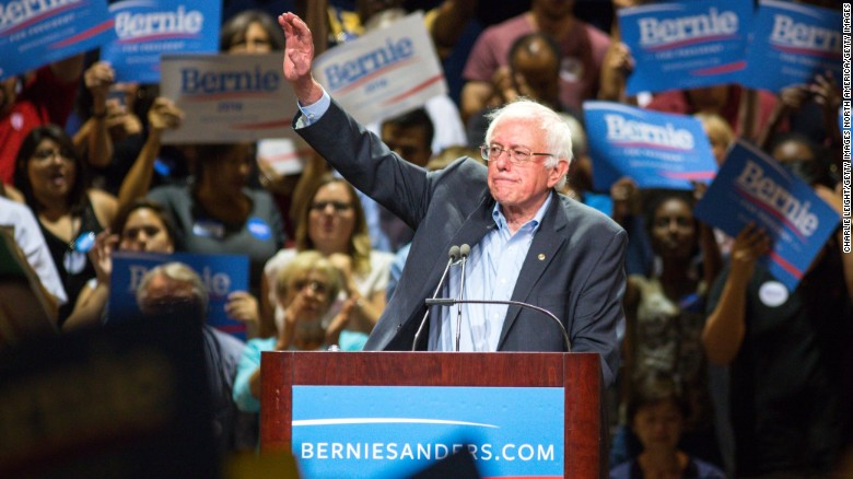 Sanders campaign tops 1 million individual donations