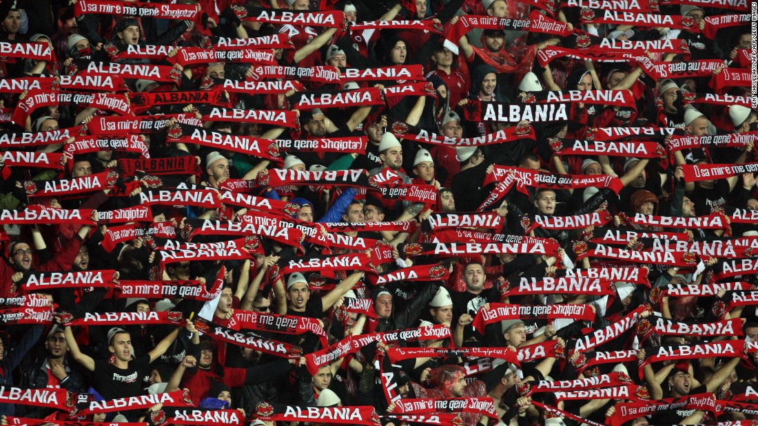 Albanian fans have watched their team play some of the best football in its history.