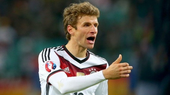 Germany reached Euro 2016 with relative ease, despite losses to Republic of Ireland and Poland. Thomas Mueller top-scored for the world champions with nine goals. The Germans were runners-up in 2008 and third in 2012.